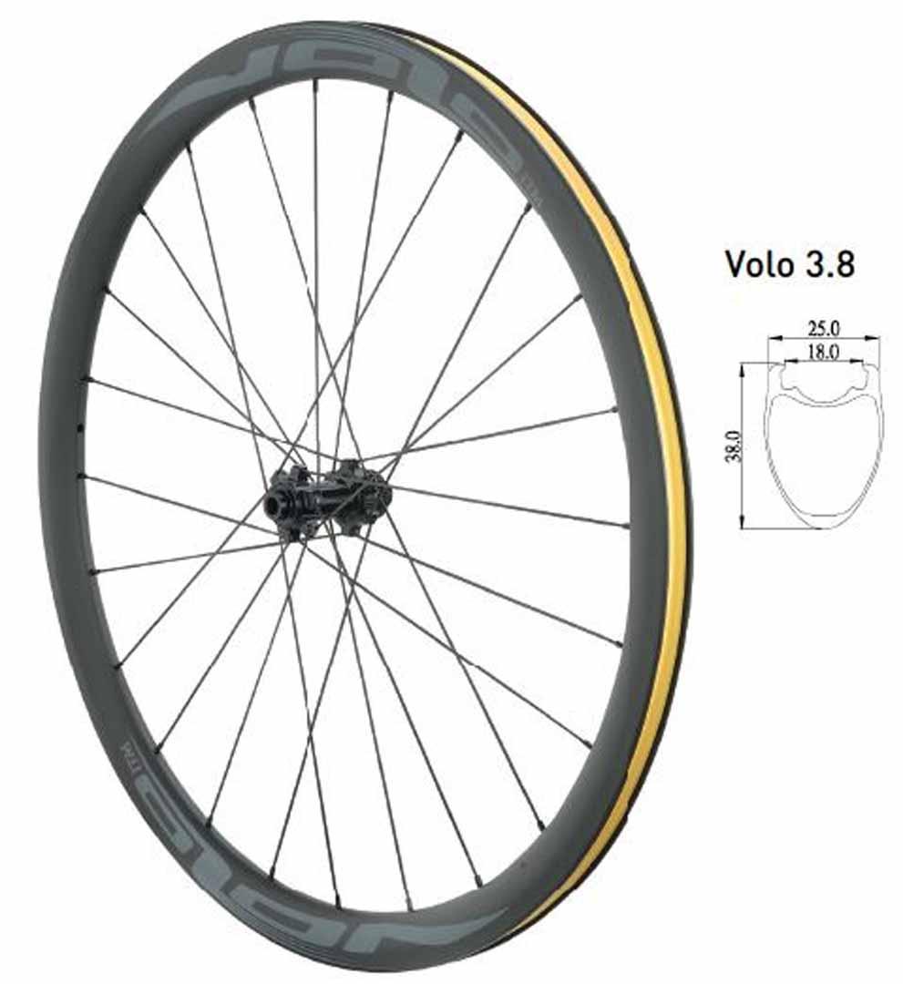 Volo 3.8 Carbon Wheel